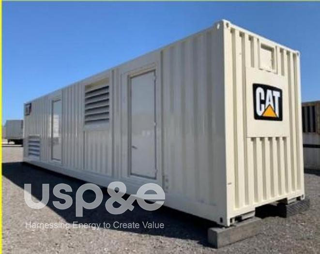 Used 1.8 MW 2011 USED CATERPILLAR XQ2000 DIESEL GENERATOR SET