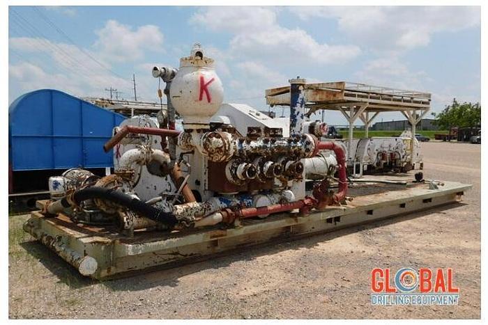 Used Item 0974 : HHF-1000 Triplex Mud Pump