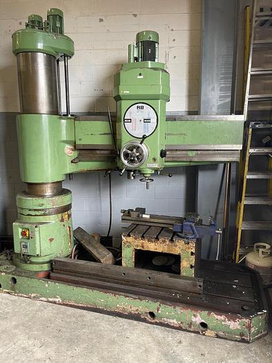 Used 5' ARM, POBEDA, RADIAL ARM DRILL