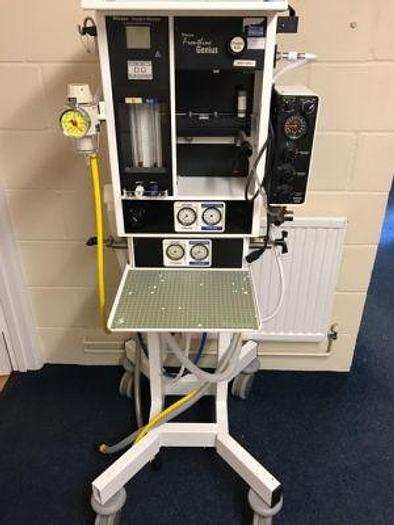 Used Anaesthetic Apparatus Mobile Blease Genius with Ventilator 2200