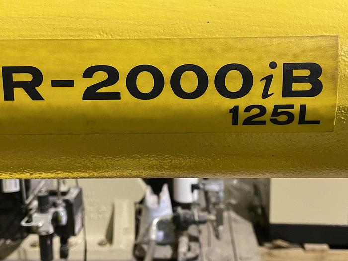 Used FANUC R2000IB/125L ROBOT WITH RJ3iC(R30iA) CONTROL, NEVER USED