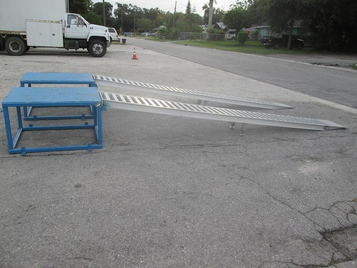 Used Vehicle Display Ramps and Platform