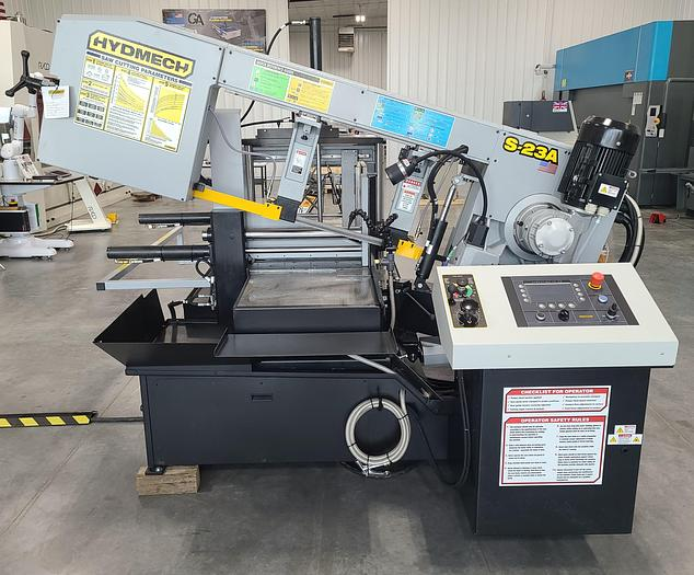 NEW Hyd-Mech S-23A Automatic Pivot Style Bandsaw S-23A