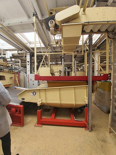 Gebraucht gebr. Mandel-Hobelsystem BAUERMEISTER, Germany mit 5 Maschinen Type MHO-22 in einer Konstruktion.