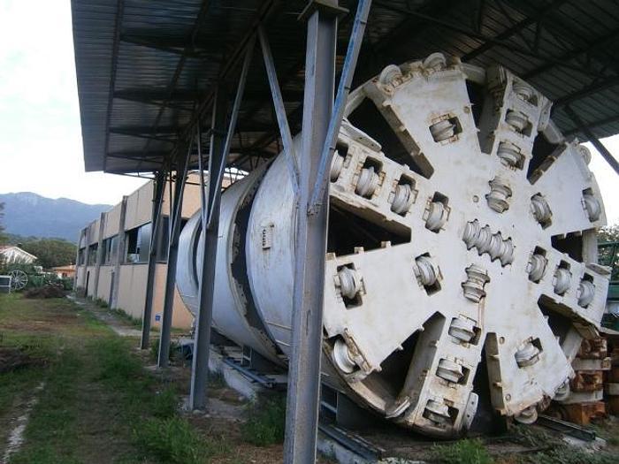 Usato Complete Plant - Talpa scavi gallerie - TBM LOVAT RM 184 serie 16300