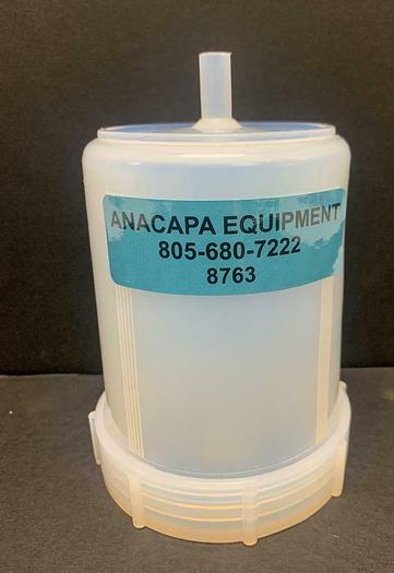 Used Savillex 100-0500-03 500 mL Standard Jar with Molded Drain & Closure (8763)W