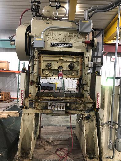 Used MINSTER P2-30-30