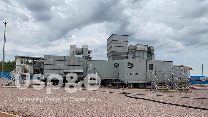 35 MW New GE TM 2500 Natural Gas Generator