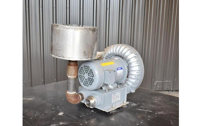 "USED REGENERATIVE BLOWER, 2"" INLET & OUTLET"