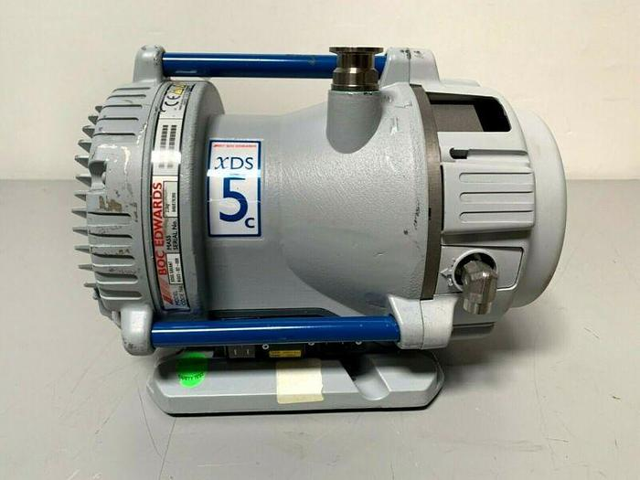 Used Boc Edwards XDS5C Dry Scroll Vacuum Pump  w/ Only 51 Hours