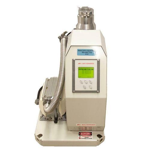 Used Boc Edwards EXT70/XDD1/TIC Cart w/ EXT 70H 24V Turbo Molecular Pump USED (9107)R