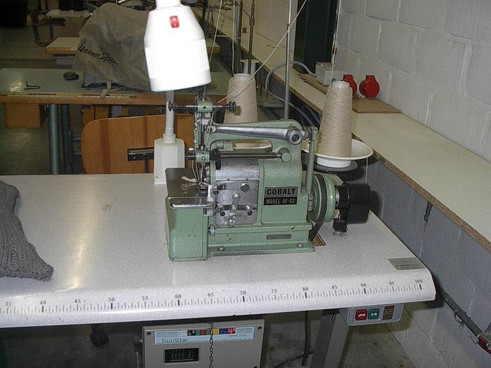 Gebraucht Muschelsaummaschine COBALT  HF-83
