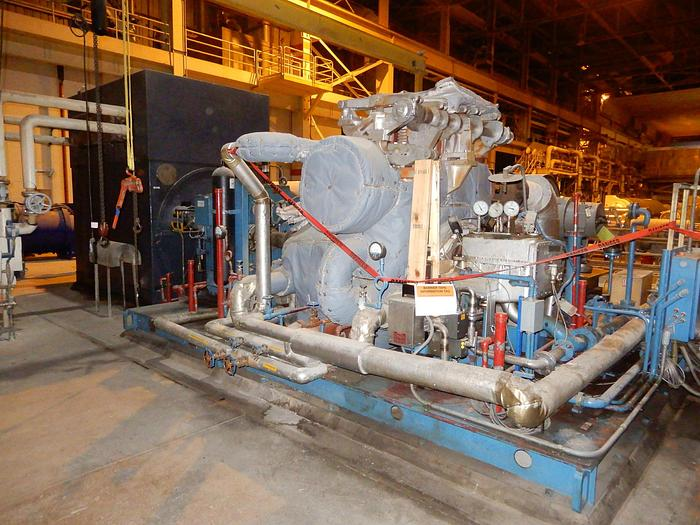 Used 10 MW TURBINE GENERATOR