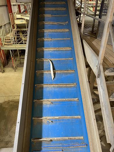 Used Elevated conveyor 13m x 1.1m