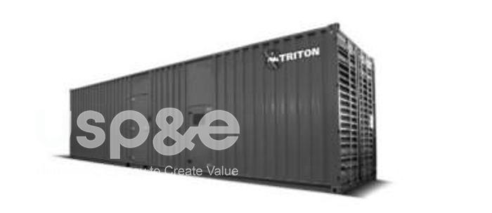 Used 2.5 MW 2011 Used MTU 20V4000G43 Diesel Generator Sets