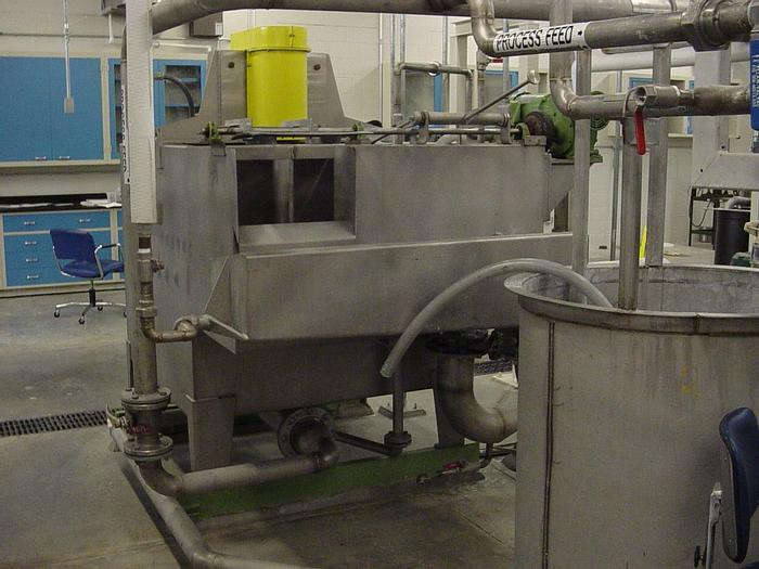 Used 1500 LITRE VOITH PILOT FLOTATION DEINKING CELL MACHINE