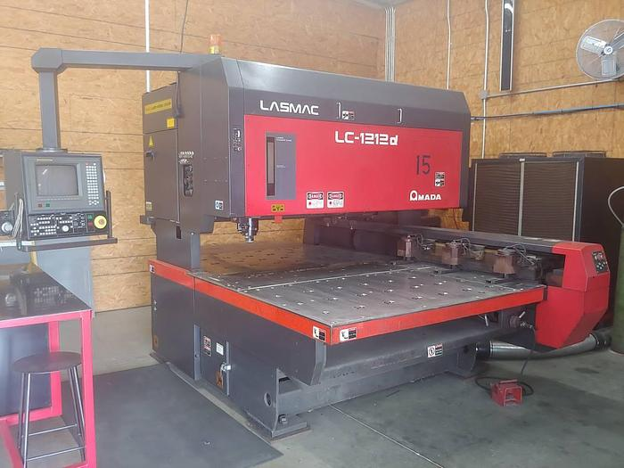 Amada Pulsar LC-1212A CNC Laser Cutting Machine, Dust Collector and Ch  LC 12...
