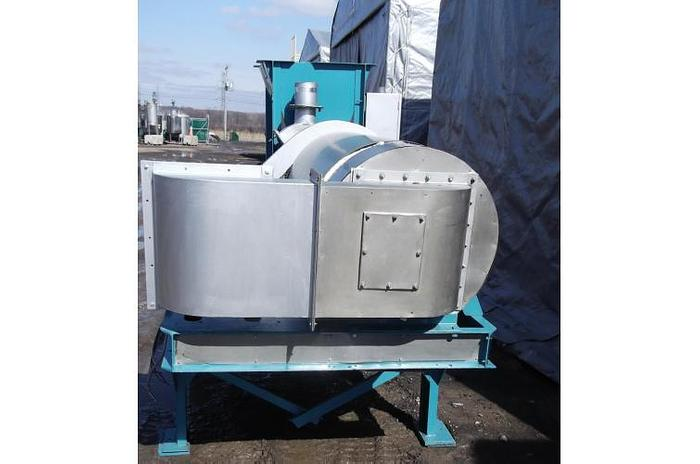 "USED DRYER, 20"" DIAMETER X 72"" LONG, STAINLESS STEEL, VARIABLE SPEED"