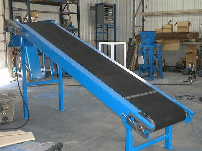 Used 30 IN. WIDE X 8 FT. LONG INCLINE CONVEYOR (NEW)