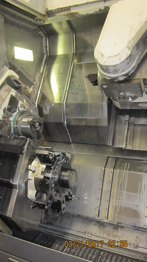 2-OKUMA MAC TURN 250-W CNC MULTI AXIS LATHE 2003 & 2004