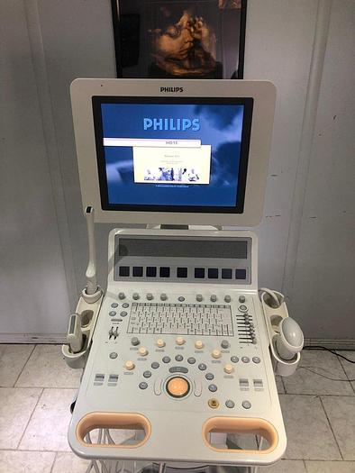 Gebraucht Philips HD15 Ultraschallgerät mit 3 Sonden und Drucker