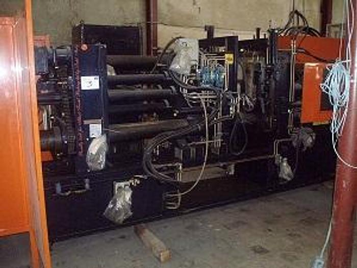 Used 250 Ton Rutil RSO 1200/250 Horizontal Rubber Injection Press; S/N 130/322