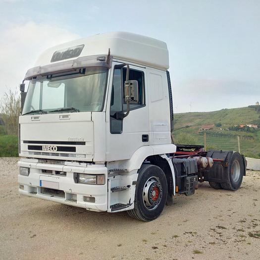 2000 IVECO Eurotech 440E42 manual injector pump tractor unit