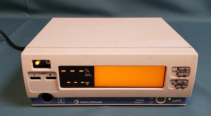 Gebraucht Datex Ohmeda 3800 TruTrack + Pulsoximeter