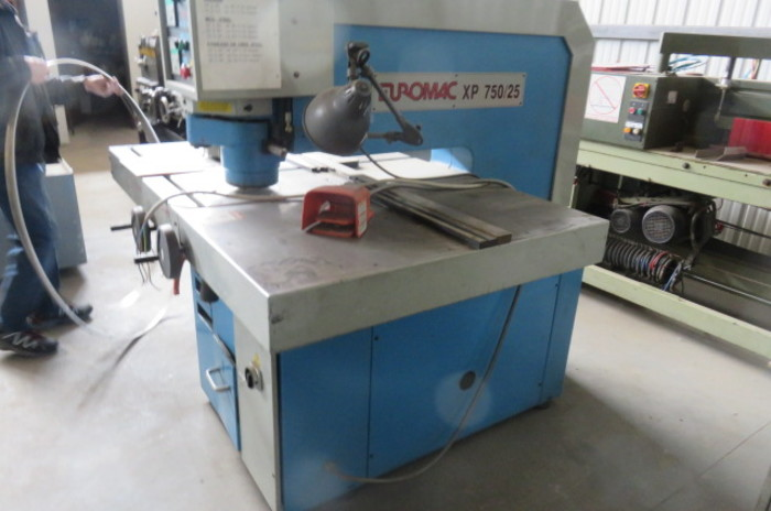 Euromac XP/25 Punch Press, Includes Tooling XP/25