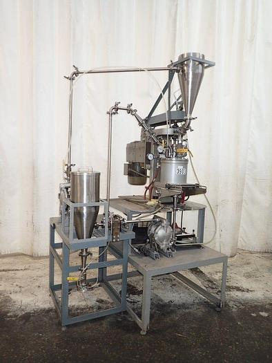 Used UNION PROCESS ATTRITOR – MODEL 1-S, TYPE B – ON BASE WITH PUMPS