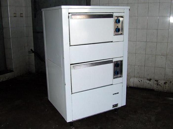 Używane 2-komorowy piec piekarniczy Nagema