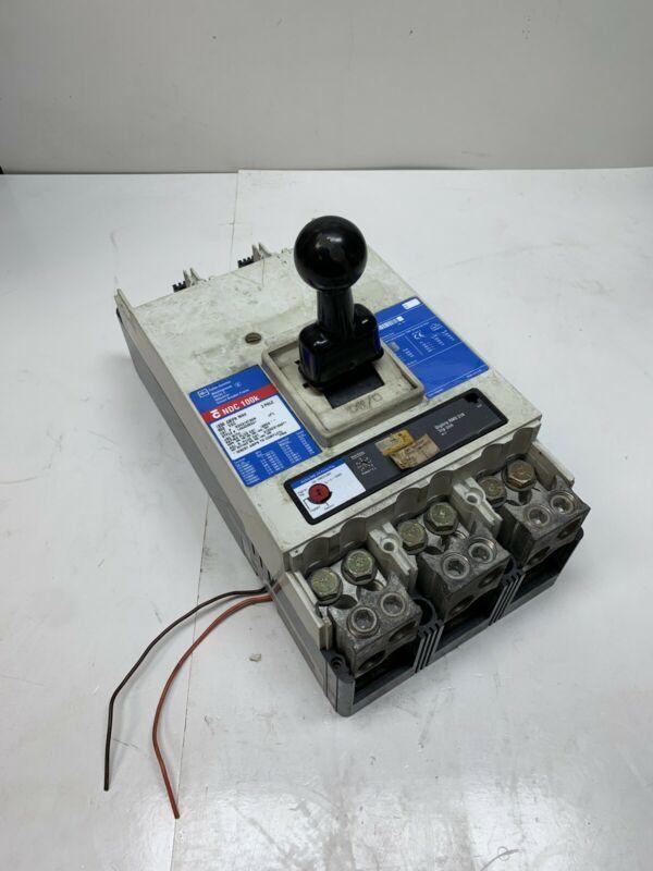 Used Cutler Hammer NDC312T33W 1200A 3P 600VAC Westinghouse Series C Circuit Breaker