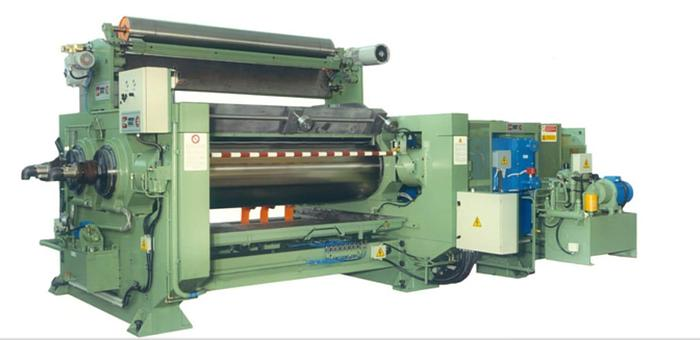 Used 1995 Comerio Ercole MGP1500  560mm dia x 1500mm 2 Roll Mill