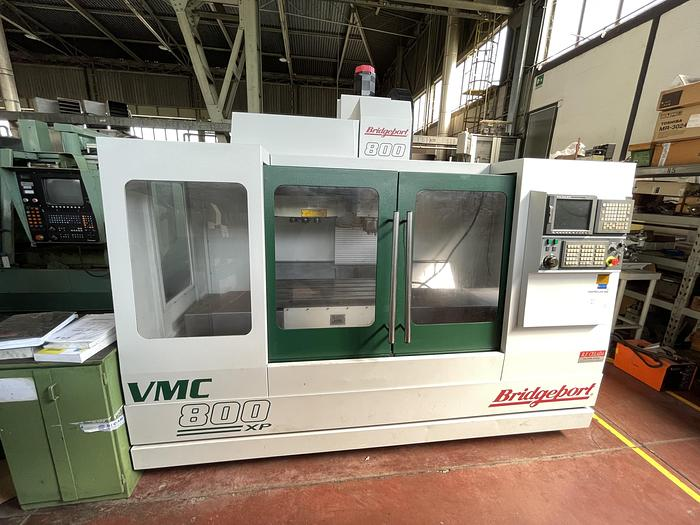 Ottime Centro di Lavoro Verticale BRIDGEPORT VMC 800 22 XP
