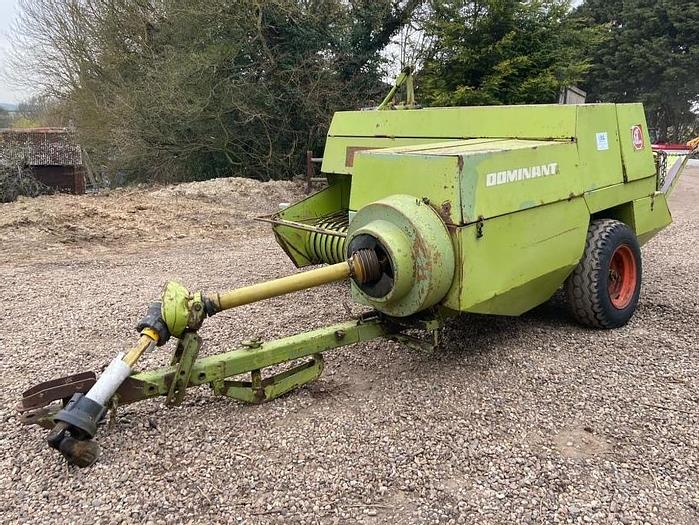 Used Claas Dominant Conventional Baler