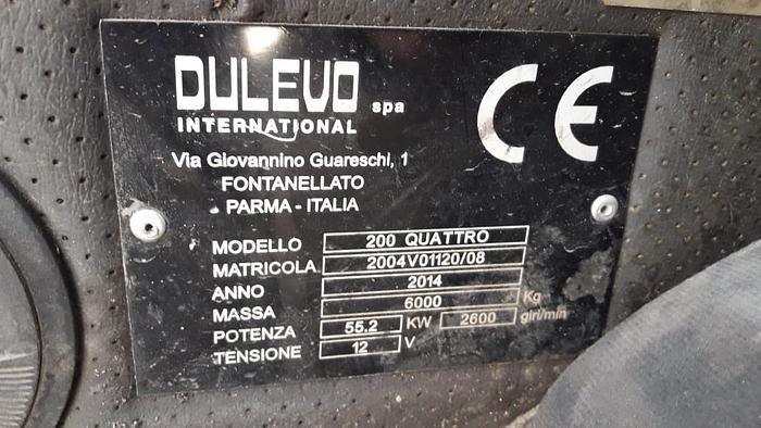 2014 DULEVO 200 CUATTRO MAXI