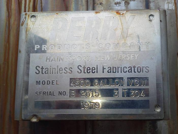 4500gl Stainless Steel tank