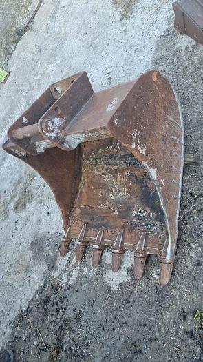 Gebraucht Tieflöffel 100 cm mit Lehnhoff MS08 Aufnahme