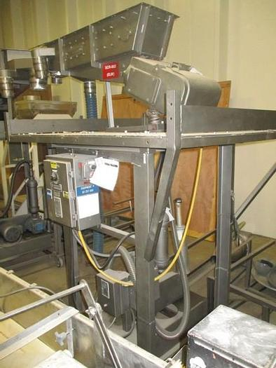 Used Syntron stainless steel classifying screen with 12″ x 36″ single deck