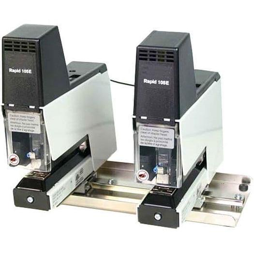 Genuine Rapid 105E Twin-Rig Electric Flat Stapler Plus 30,000 Staples
