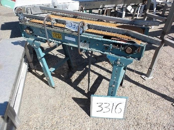 Sierra Conveyor 12'' Wide x 48'' Long Case Conveyor #3316