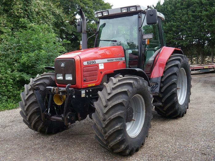 Used Massey Ferguson 6290 4wd Tractor
