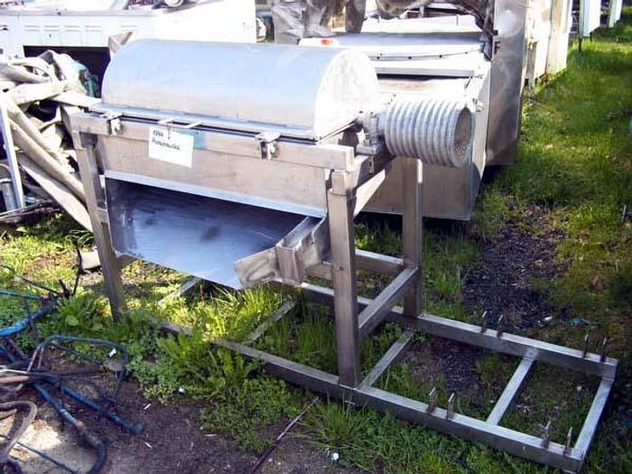 Used Maszyna do przecierania 1-stopniowa - nierdzewna