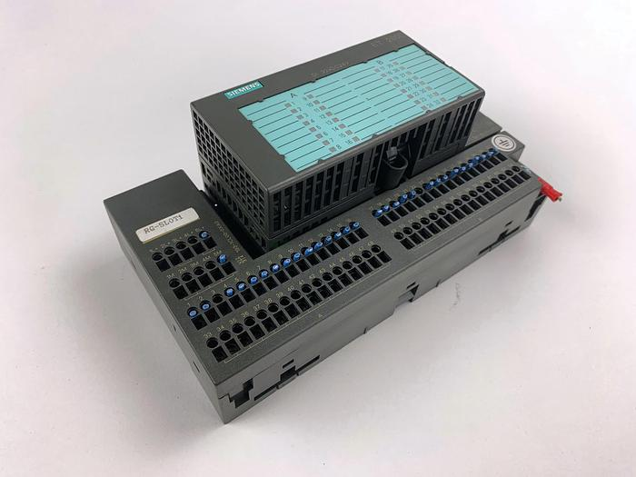 Used SIEMENS 6ES7 131-1BL00-0XB0 Electronic Block with Terminal (6ES7 193-1CL00-0XA0)