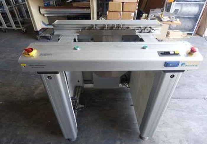Used NUTEK  NTM2500-L-1000-1 Reject conveyor AOI SPI 2008 NG board