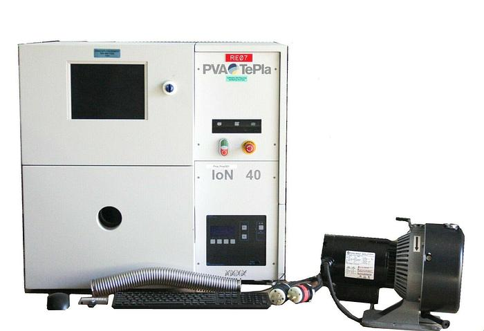 Used PVA TePla Ion 40 Barrel Plasma Asher System Plasma Cleaner, Etch, Strip  7181