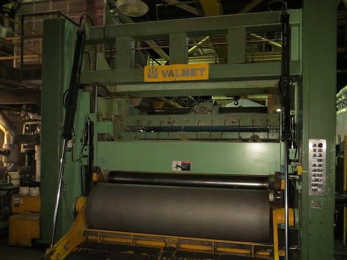 "Used 108"" (2.74M) VALMET TWO DRUM SLITTER REWINDER  6000FPM"
