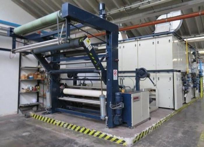 Used STENTER 1995 STENTEX  MULTILAYER 2400/2200 mm GAS