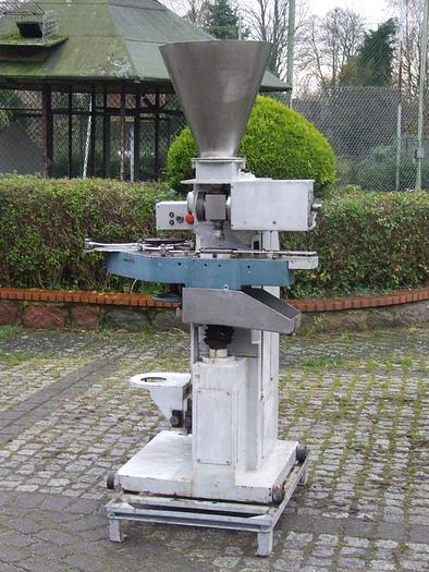 Używane Automatyczna dozownica do opakowań blaszanych, plastikowych i szklanych WZ-38, Spomasz Gniezno.