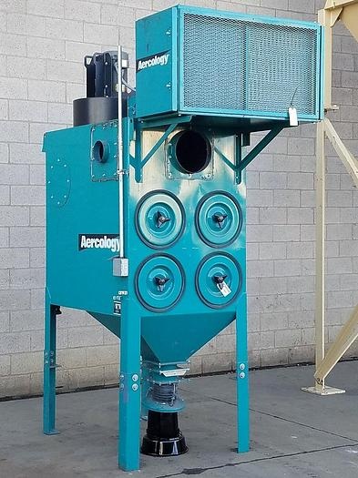 Refurbished 2,000 CFM AERCOLOGY CARTRIDGE TYPE DUST COLLECTON SYSTEM (#9820)
